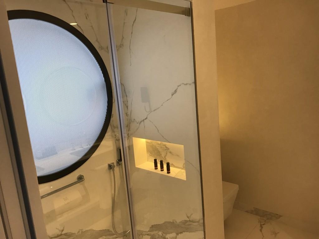 Gran Hotel Montesol Curio Hilton Ibiza bathroom shower