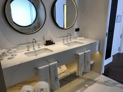 Gran Hotel Montesol Curio Hilton Ibiza bathroom sinks