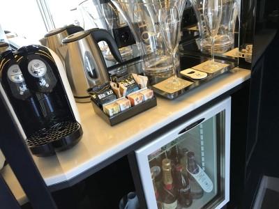 Gran Hotel Montesol Curio Hilton Ibiza minibar nespresso
