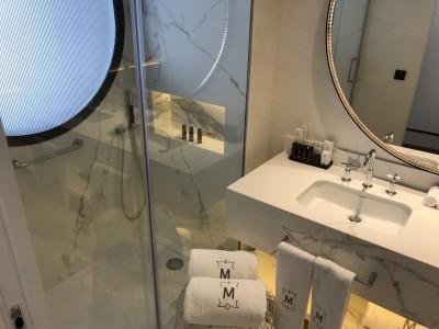 Gran Hotel Montesol Curio Hilton Ibiza superior city view bathroom