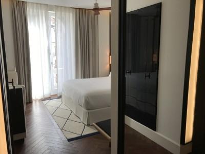 Gran Hotel Montesol Curio Hilton Ibiza superior city view bedroom