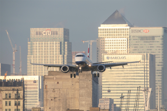 BA1 review London City to New York