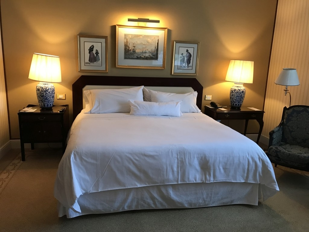 The Westin Palace Madrid bedroom bed