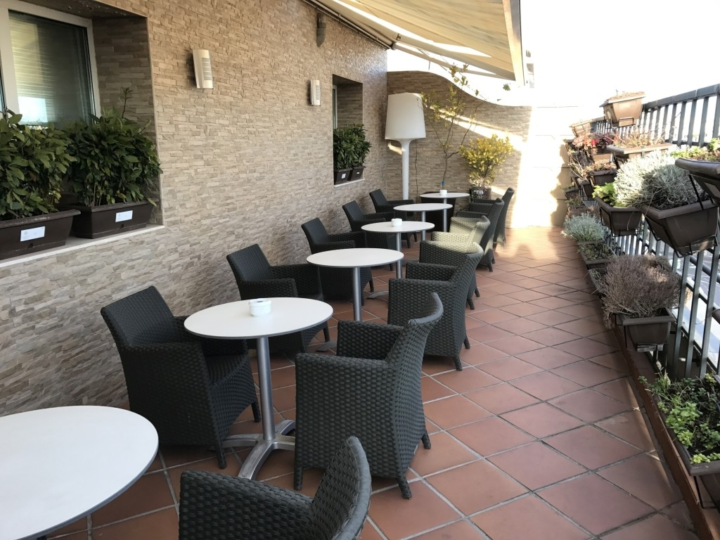 The Westin Palace Madrid terrace