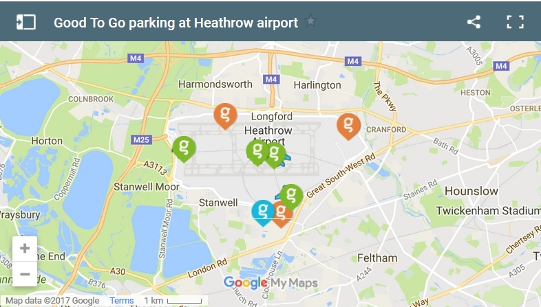 All about Good To Go Parking at Heathrow Airport
