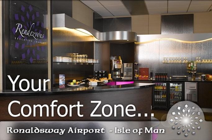 rendezvous airport lounge isle of man ronaldsway airport