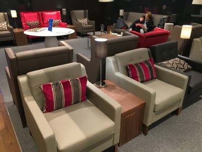 Review British Airways business and first lounge, Gatwick Airport South terminal