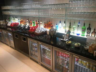British Airways Business Class lounge Gatwick Airport review