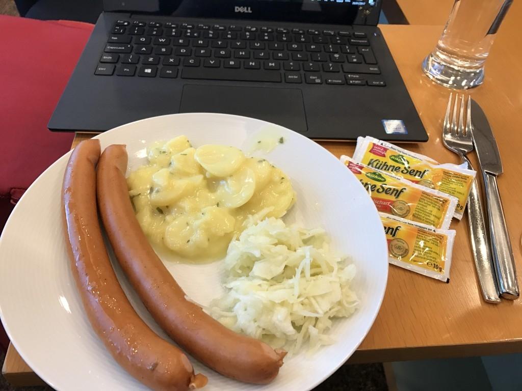 Review JAL Sakura Lounge at Frankfurt Airport