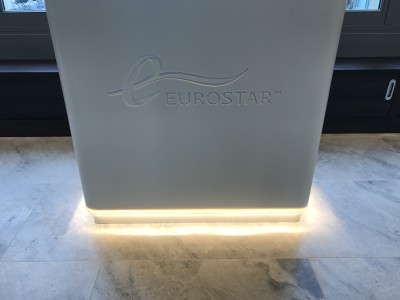 eurostar business premier lounge review check in desk