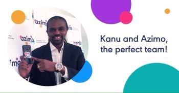 Kanu Azimo brand ambassador arsenal football player