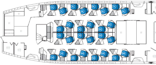 United Polaris seat map