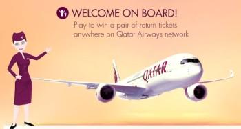 Win qatar tickets oneworld flying