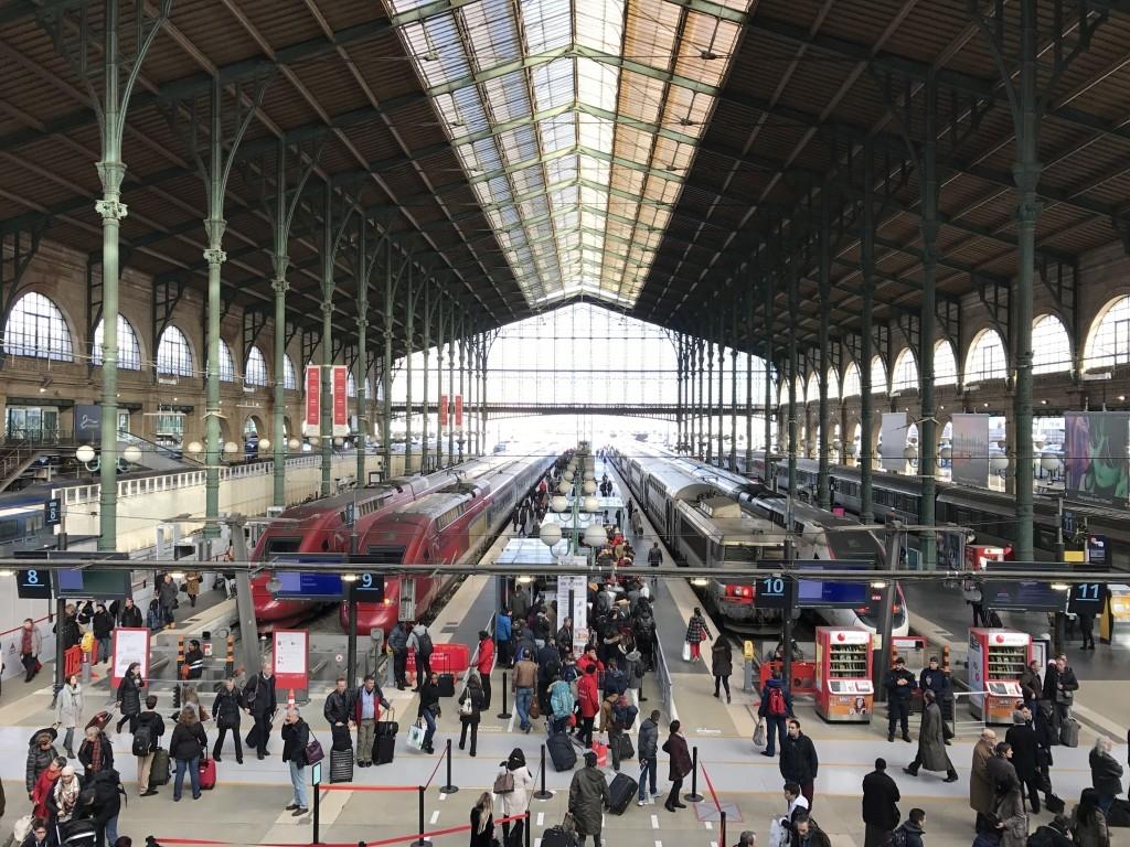 eurostar business premier lounge gare du nord review