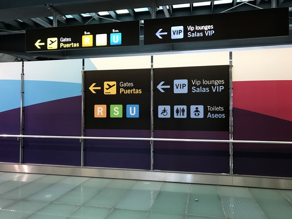 madrid airport sala velazquez lounge directions