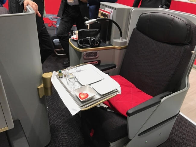 Airberlin ITB new business class seat