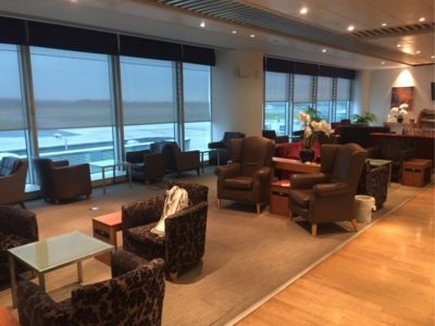 Review British Airways Terraces Lounge at Manchester Airport Terminal 3