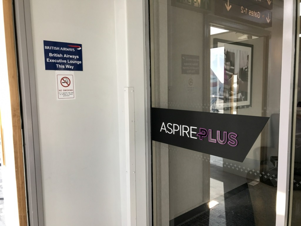 Review British Airways Terraces lounge newcastle location