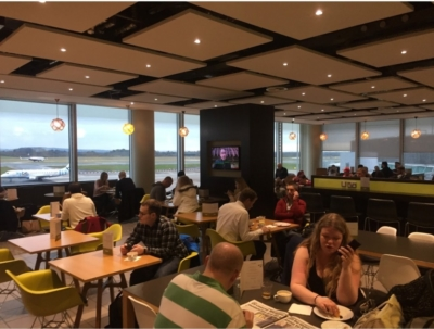 Review Escape Lounge Manchester Airport Terminal 3