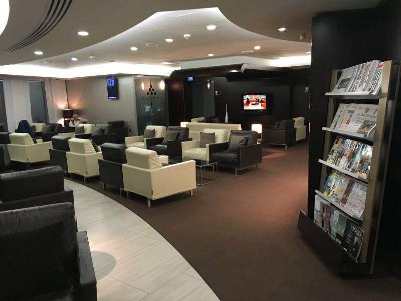 Etihad lounge review London Heathrow
