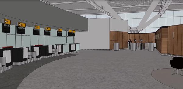First Wing British Airways Terminal 5 2