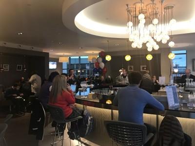 New BA lounge Boston bar