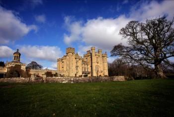duns castle scotland disney beauty and beast home away