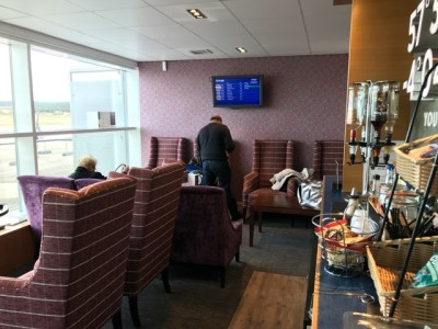 Aspire Lounge Inverness Airport review
