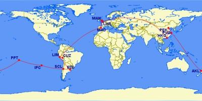 itinery map