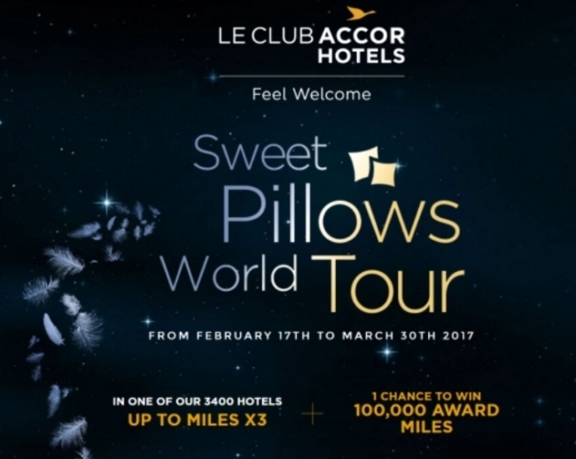 le club accorhotels sweet pillows world tour