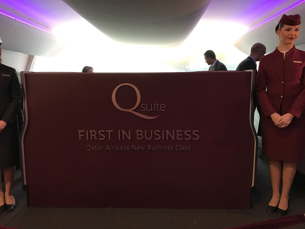 qatar airways new business class seat
