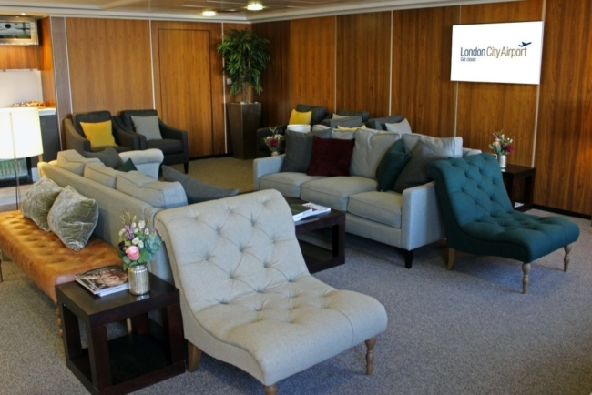 London City Airport business lounge