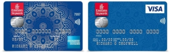 Emirates Skywards credit cards to close