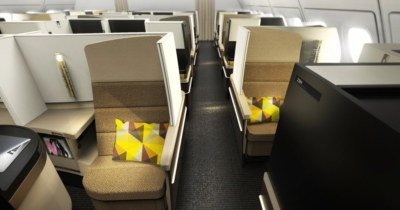 Etihad Business Class Studio Manchester