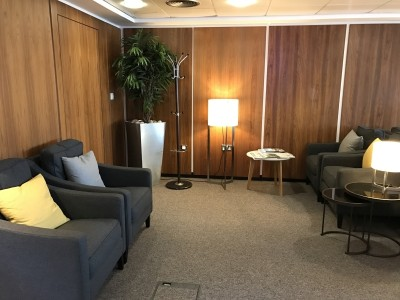 Review London City Airport Business Lounge
