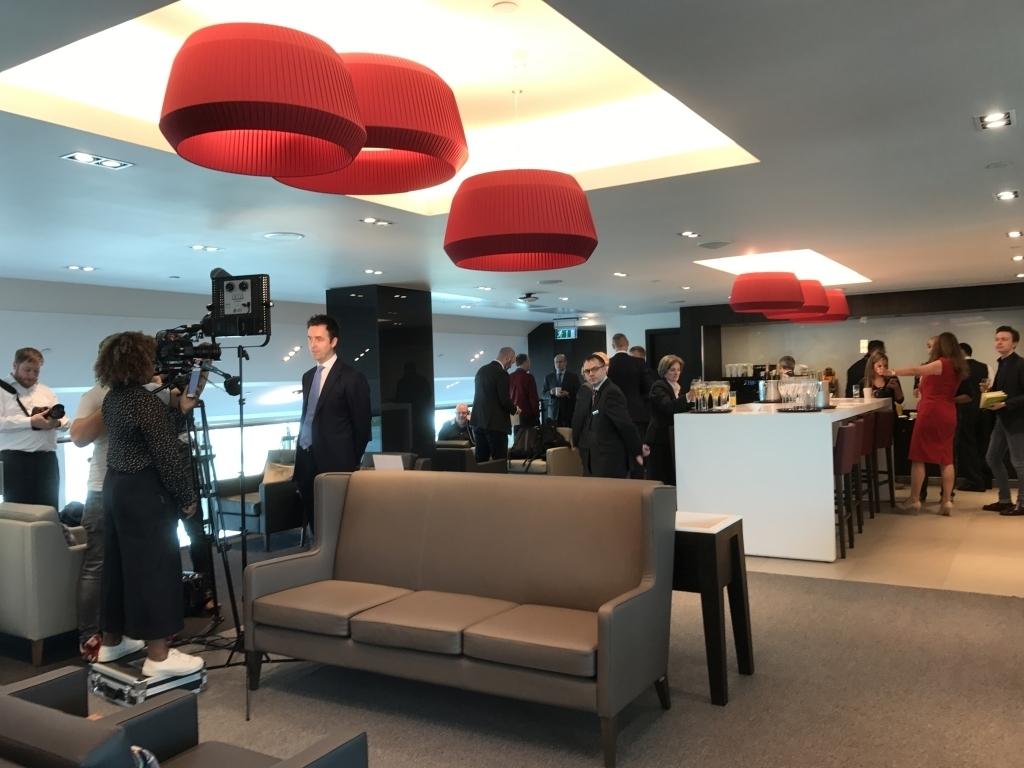 quiet zone BA business lounge gatwick