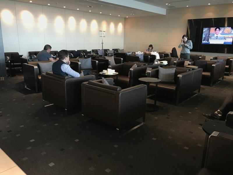 ANA Business Class Lounge Tokyo Haneda review