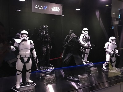 ANA Business Class Lounge Tokyo Haneda review Star Wars