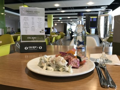 Escape Lounge Stansted Airport review 12
