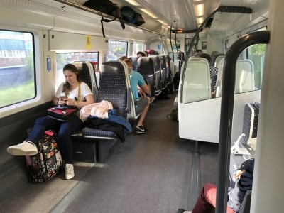 Stansted Express Review First Class