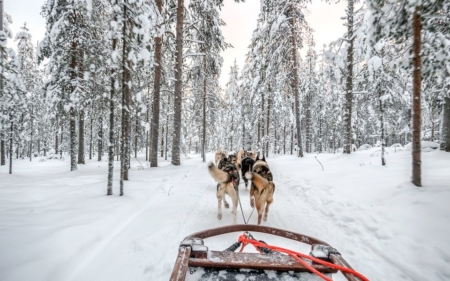 Finnair flights from London Gatwick to Lapland