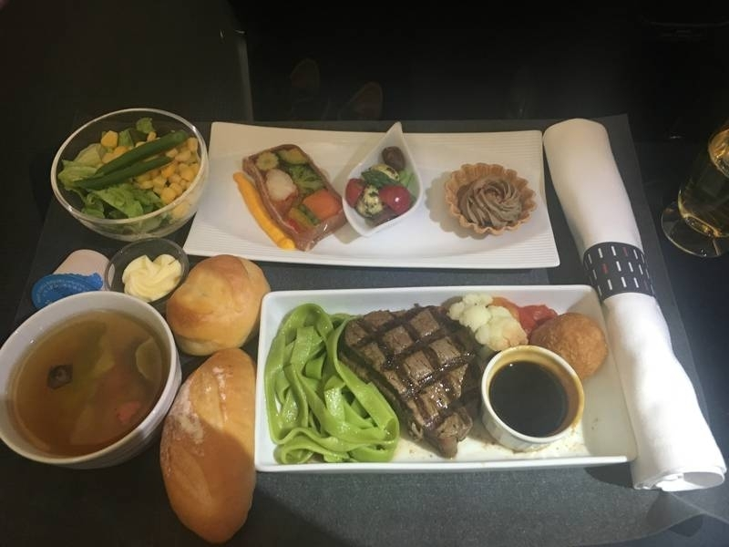 Japan Airlines Boeing 787 business class review