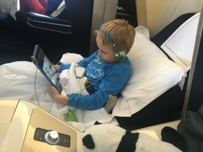 British Airways family travel Max Burgess