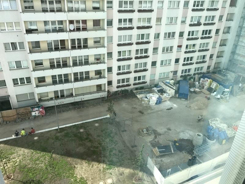 Hampton by Hilton Alexanderplatz room view review