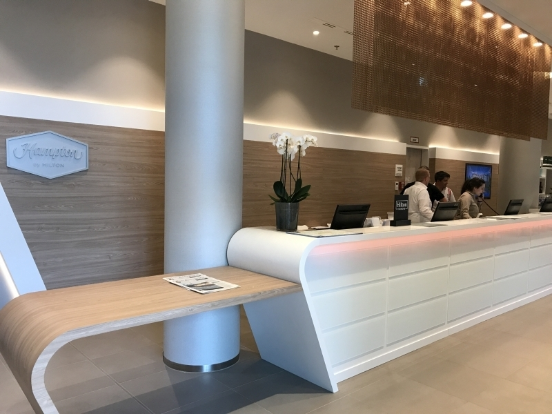 Hampton by Hilton Alexanderplatz Berlin reception review