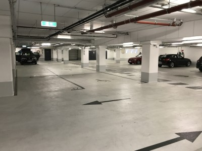 Hampton by Hilton Alexanderplatz Berlin garage review