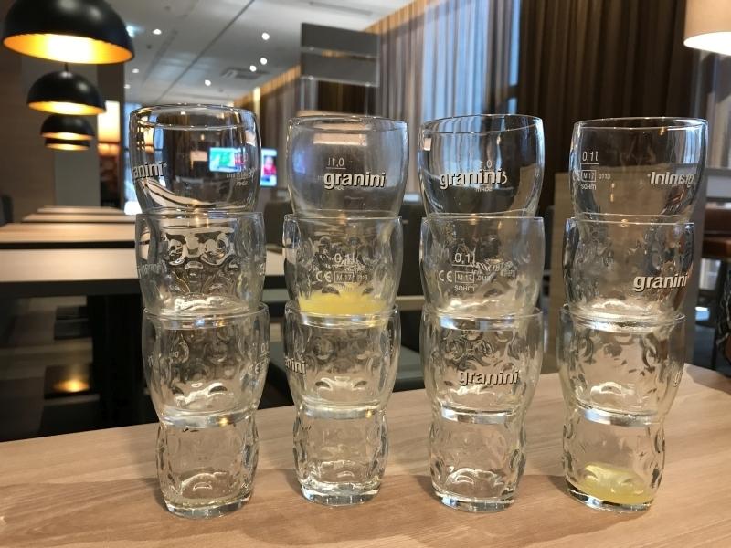 Hampton by Hilton Alexanderplatz Granini glasses review