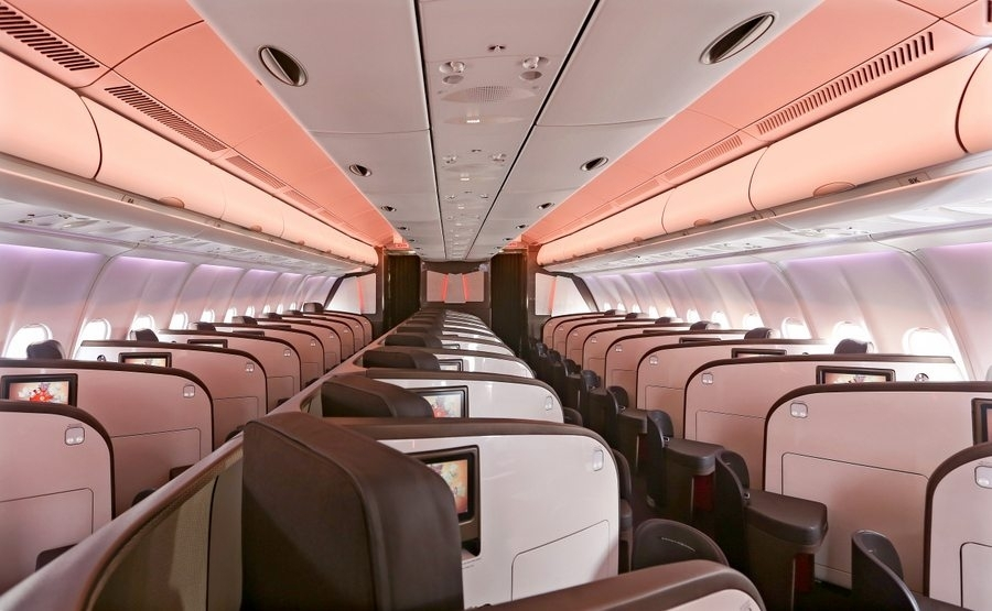 New Virgin A330 layout