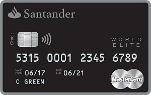 Santander Select World Elite Mastercard review