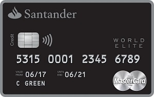 Santander select world elite mastercard reviewed santander select world elite mastercard reheart Gallery